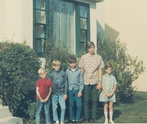 1967 – Michael, Jules, Willie, Paul & Charlotte – 527 Ash St., Winnipeg