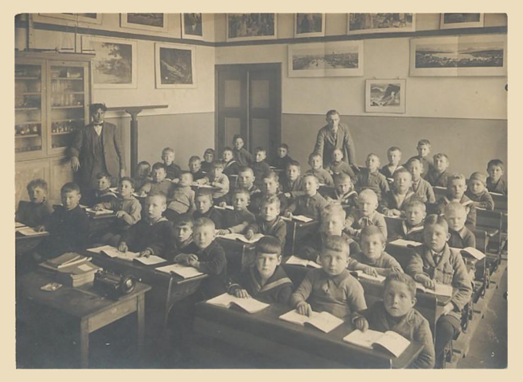 Middle School Years 1928 Grade Two St. Joseph School Rozenlaan