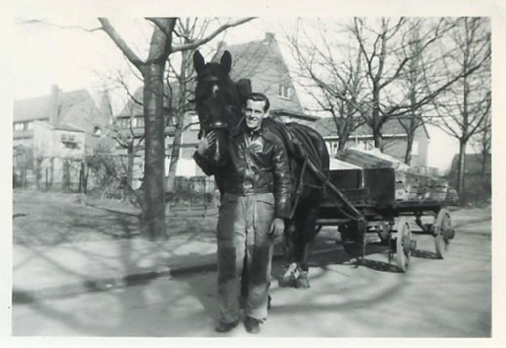 1950 - Wim with de zwarte & groentewagen