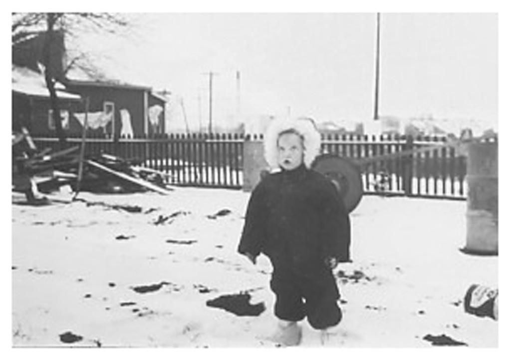 1953 Dec. - Paul in North Battleford