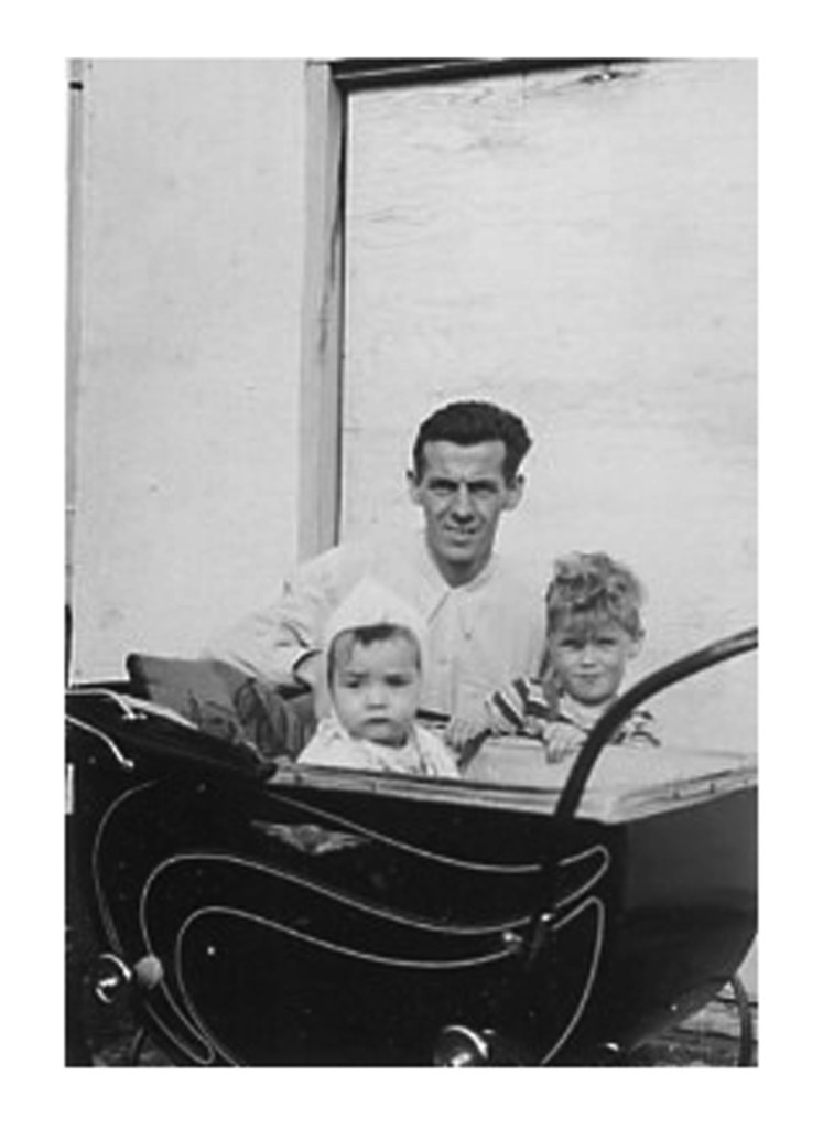 Willie & Paul with Dad