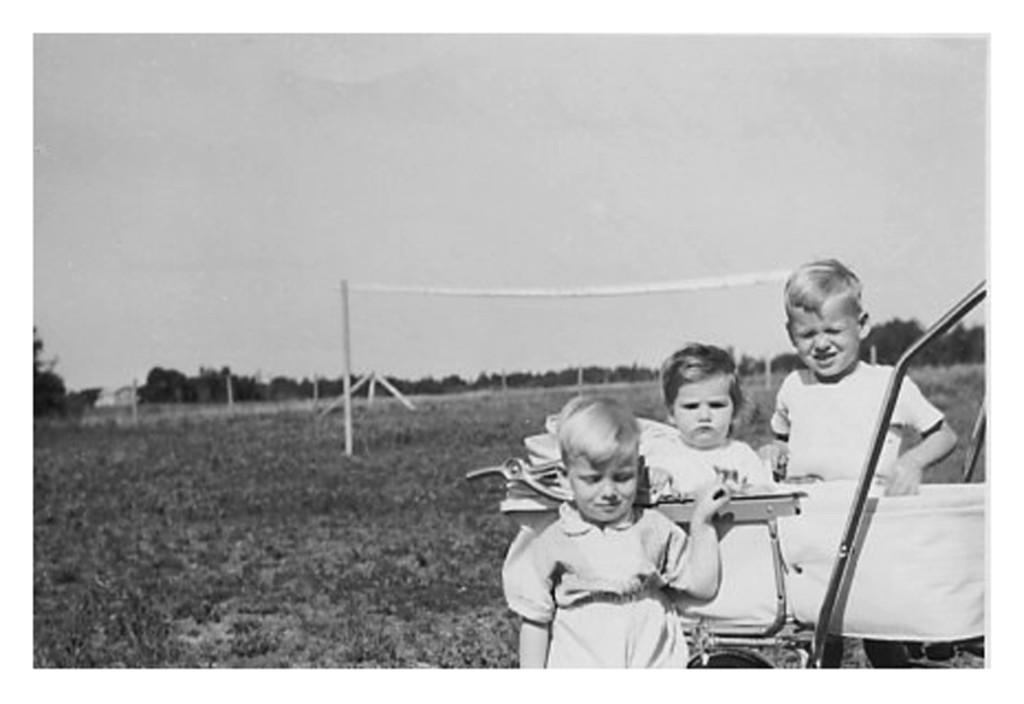 1961 - Michael, Charlotte & Jules in Poorman