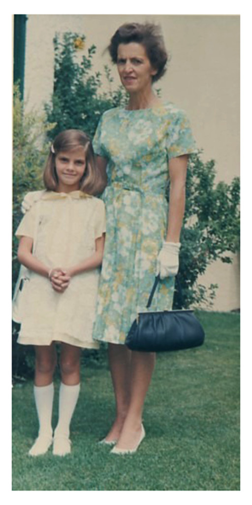 Charlotte with Mom (First Communion)